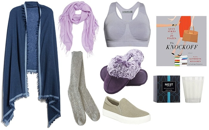 Accessories to go with your ladies loungewear set | 40plusstyle.com