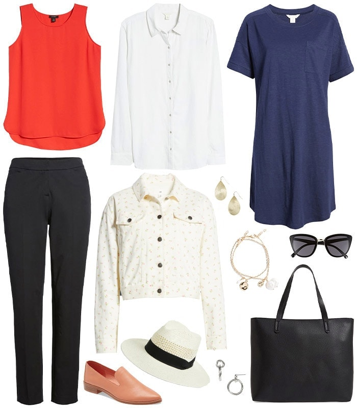 Quality basic clothing under $50 to create everyday outfits you will want to wear all day, every day