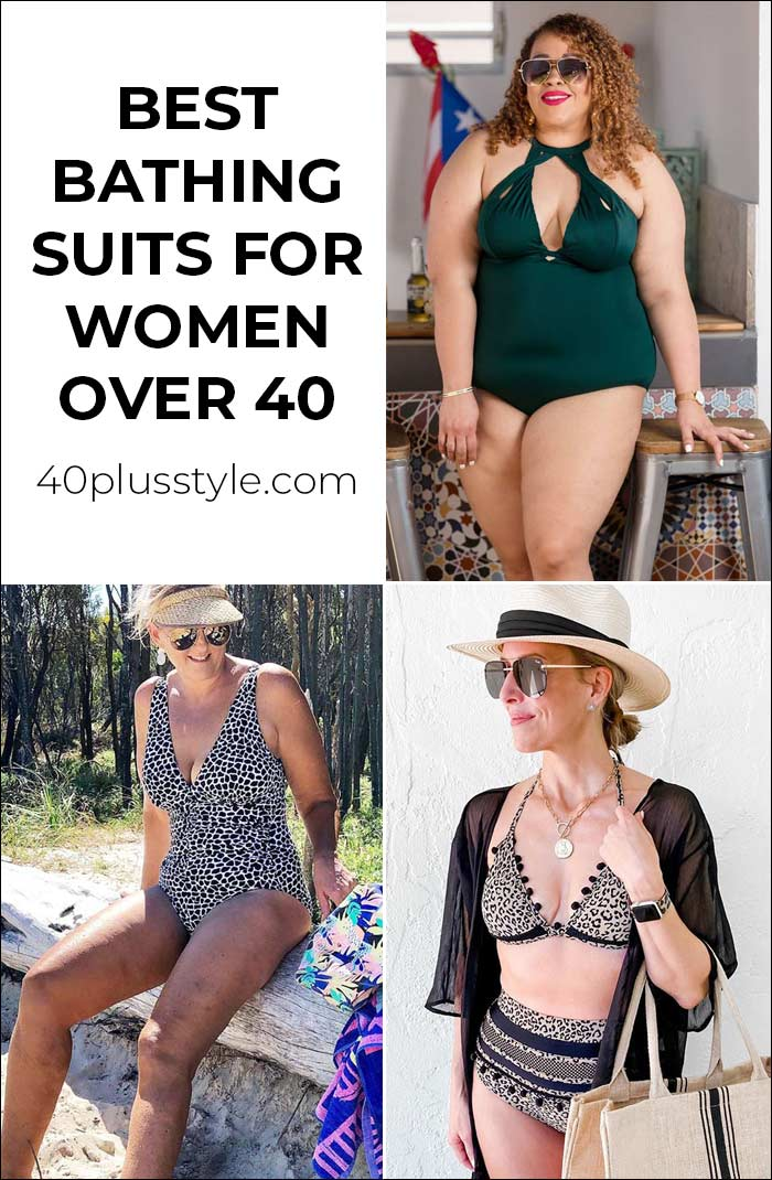 The best bathing suits for women over 40 - swim suits that make you feel fabulous | 40plusstyle.com