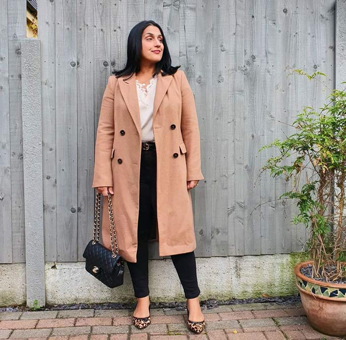 a beige coat will always be on trend | 40plusstyle.com