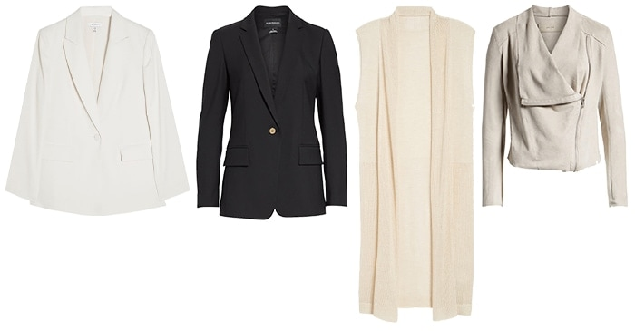 Outerwear for the minimal style personality | 40plusstyle.com