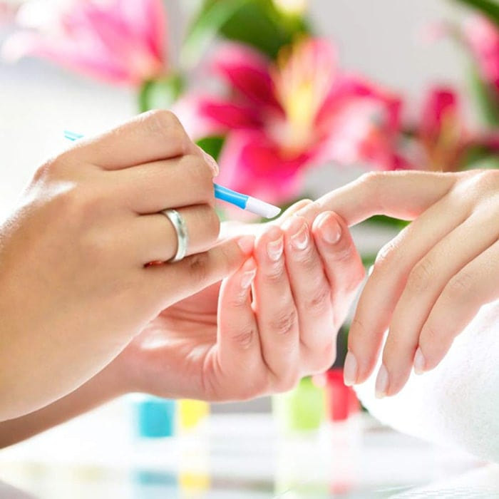 Push your cuticles back to give yourself a manicure at home | 40plusstyle.com