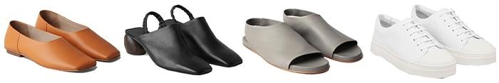 cos shop online: shoes | 40plusstyle.com