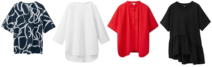 cos shop online: tops | 40plusstyle.com