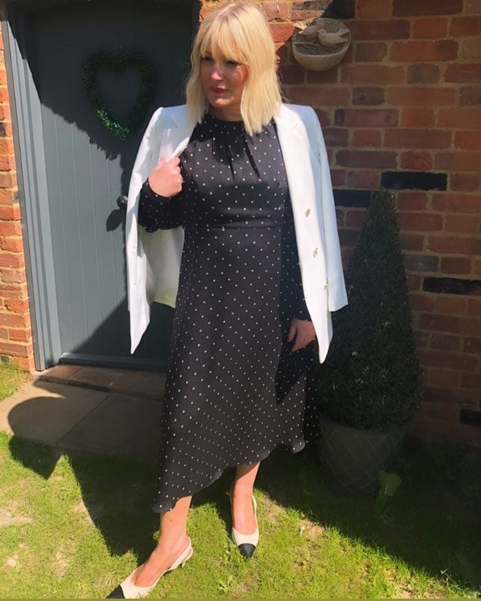 polka dots for summer | 40plusstyle.com
