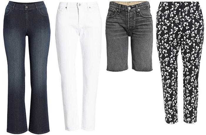 Summer trends: Pants & Jeans | 40plusstyle.com