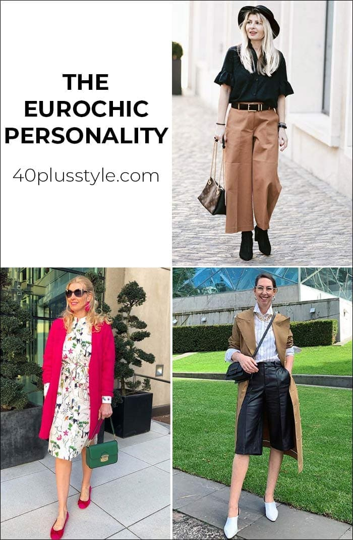 A capsule wardrobe and style guide for the EUROCHIC style personality | 40plusstyle.com