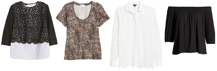 tops for the glamorous style personality | 40plusstyle.com