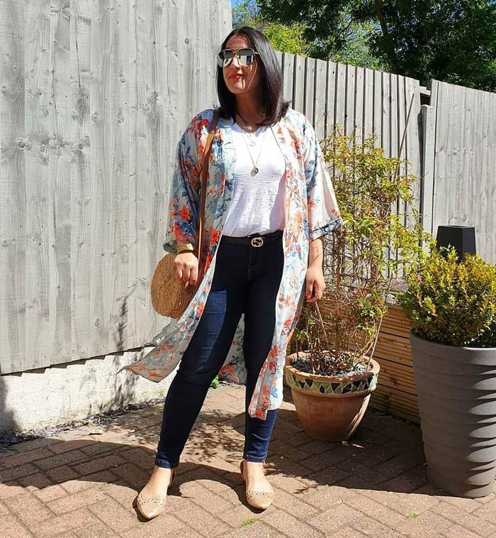 how to wear flats with jeans | 40plusstyle.com