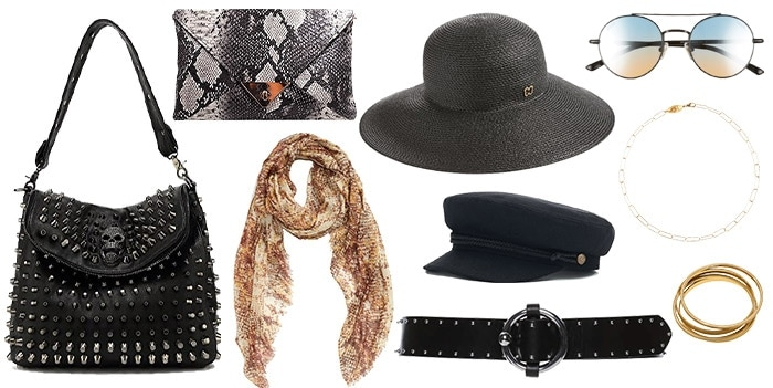 accessories for the rock style personality | 40plusstyle.com