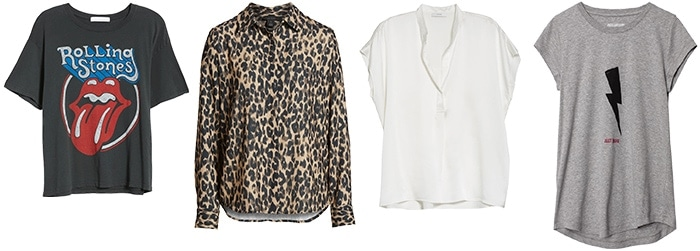 Tops for the rock style personality | 40plusstyle.com