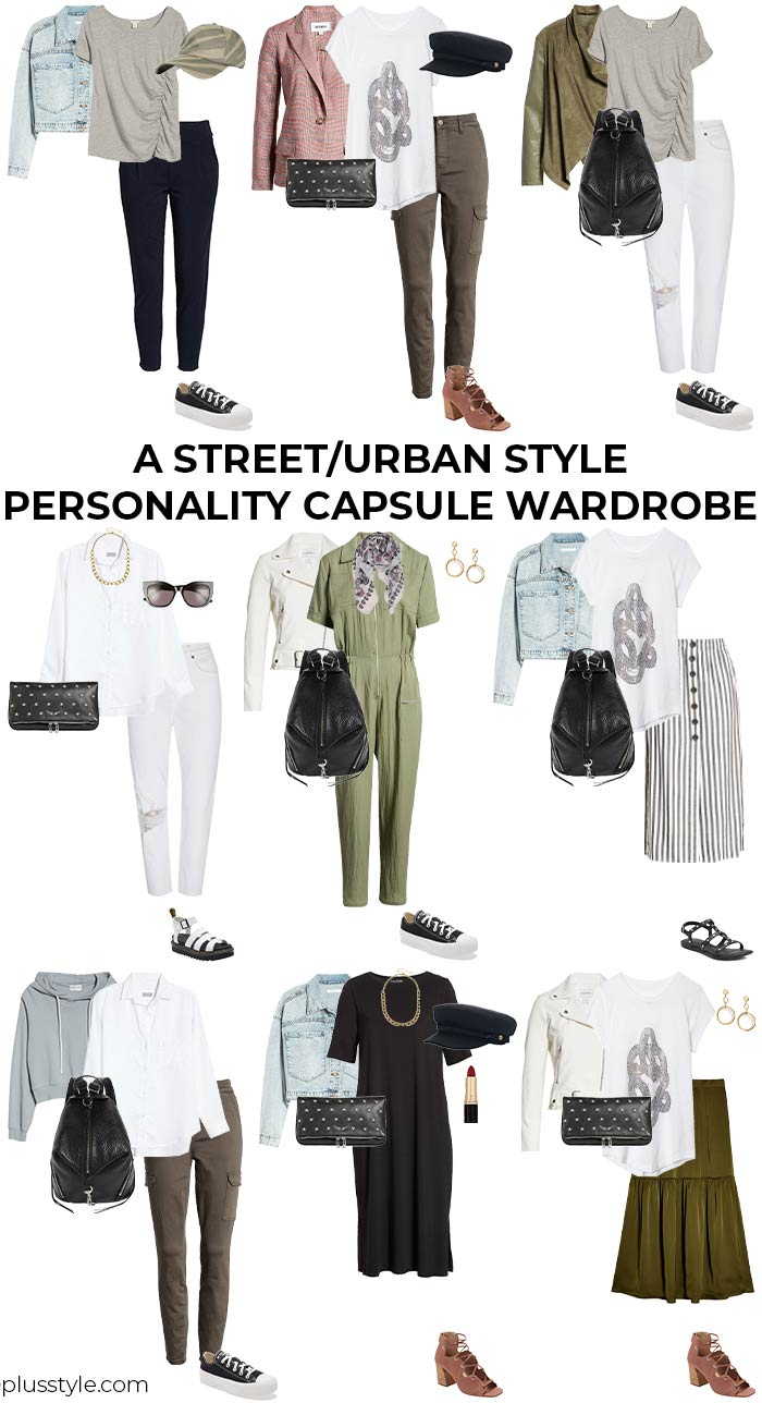 A capsule wardrobe for women with an urban personality | 40plusstyle.com