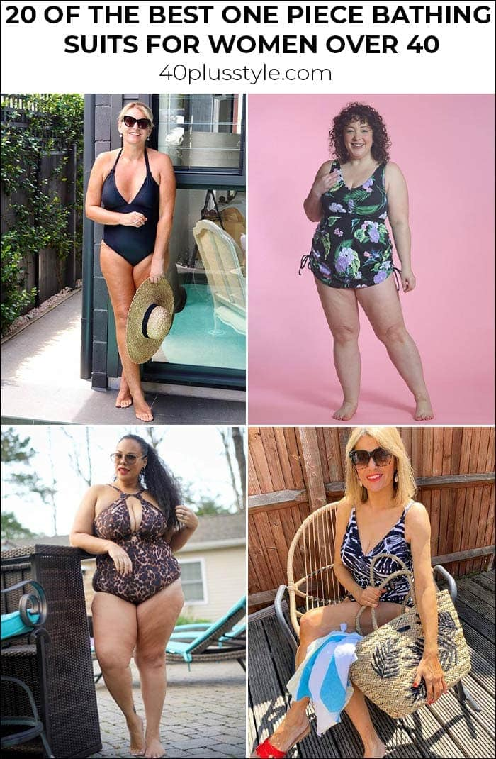 20 Of The Best One-Piece Bathing Suits For Women Over 40   40plusstyle.com