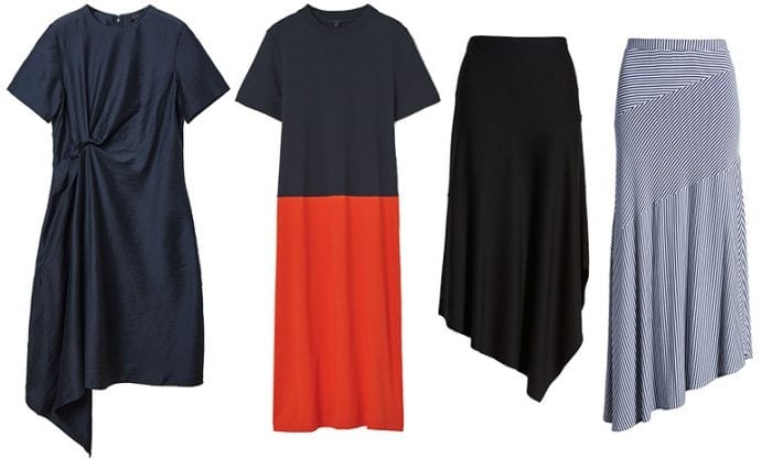 Architectural style personality dresses and skirts   40plusstyle.com