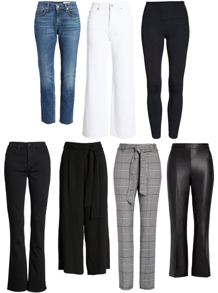 Jeans and pants in the Nordstrom anniversary sale | 40plusstyle.com