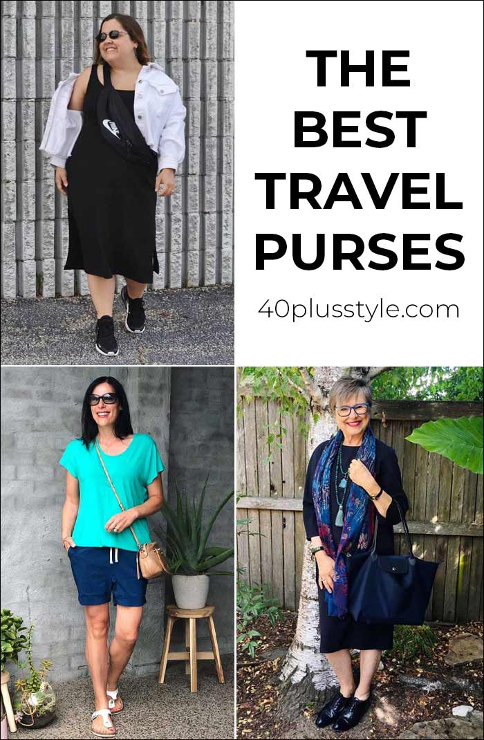The best travel purses for vacation and everyday use | 40plusstyle.com