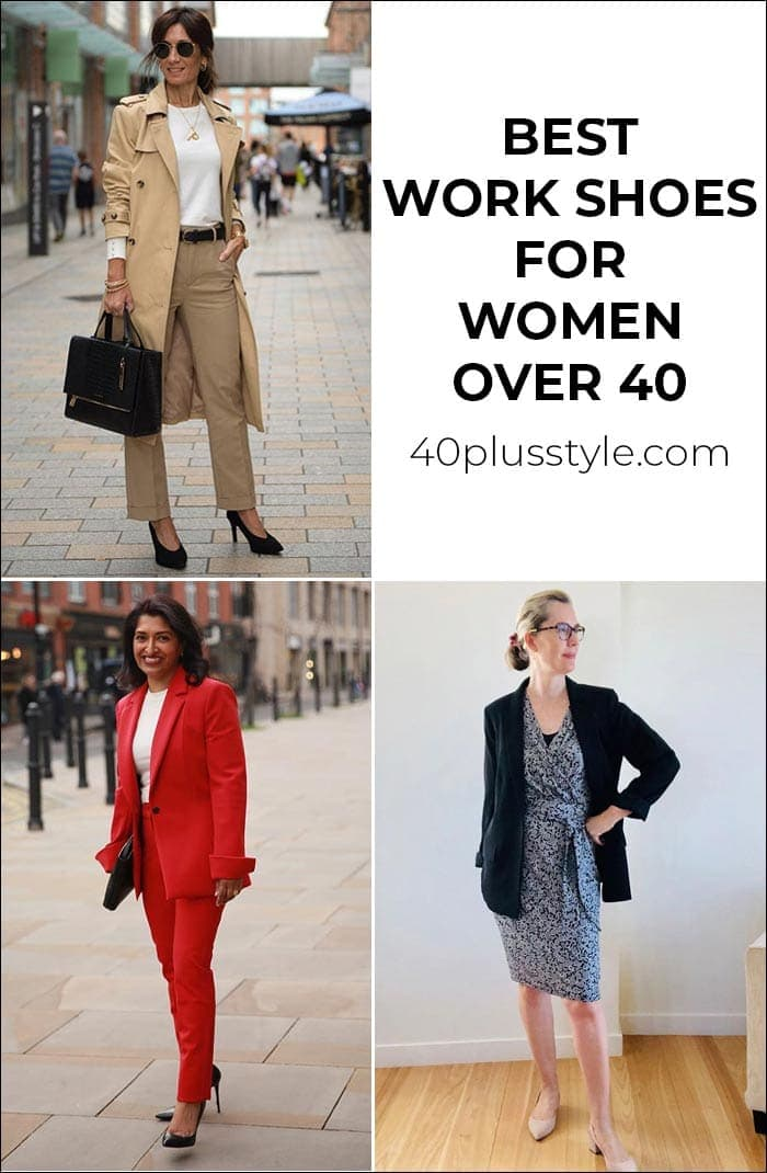 Best work shoes for women to keep you comfy AND stylish all day | 40plusstyle.com