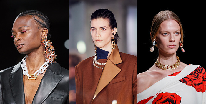 Accessory trends 2020 - chunky chain necklaces | 40plusstyle.com