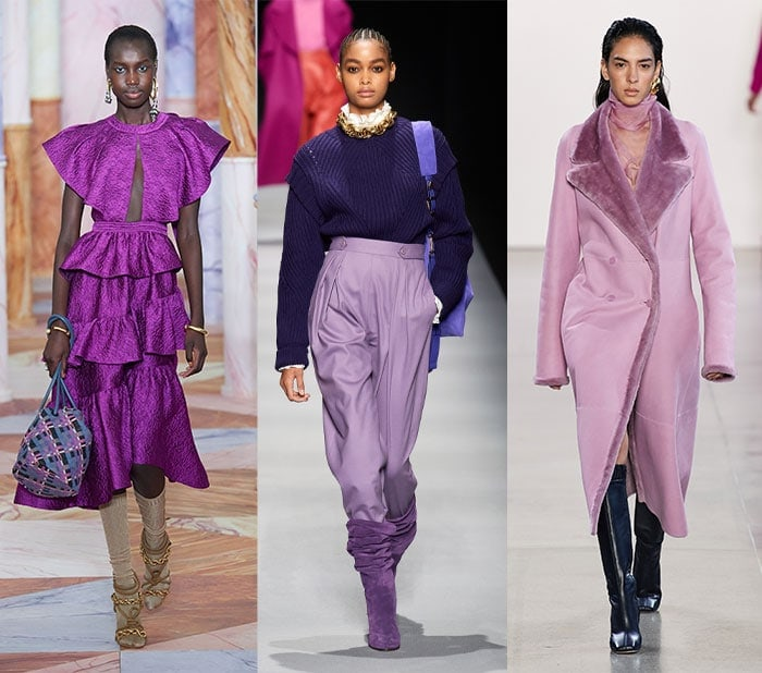 Fall color trends - purple | 40plusstyle.com