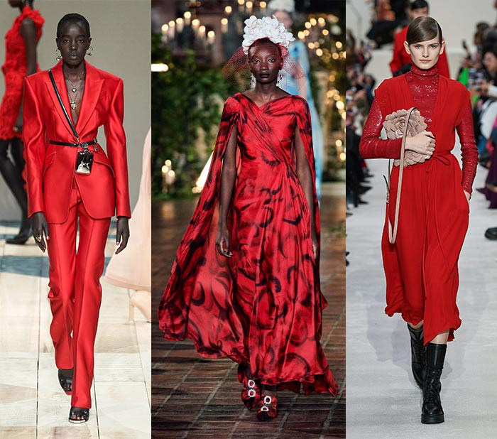 Fall clothing colors - red   40plusstyle.com