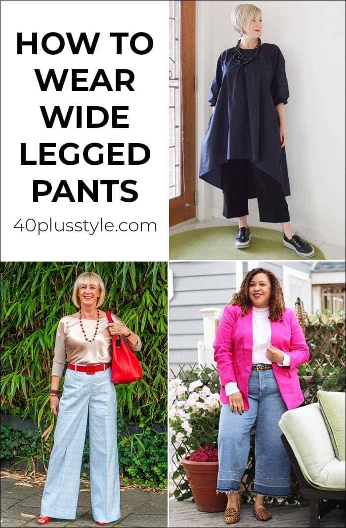 Wide legged pants: how to wear them in 2020 and where to buy the best ones   40plusstyle.com