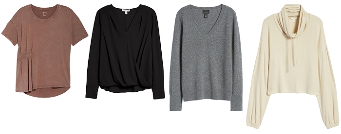 Tops to wear at home | 40plusstyle.com