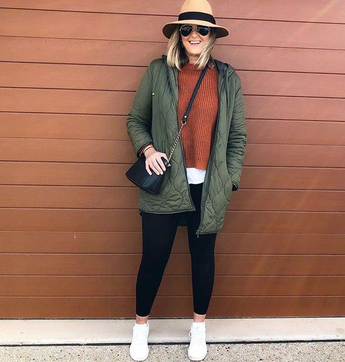 Nic in a winter outfit | 40plusstyle.com