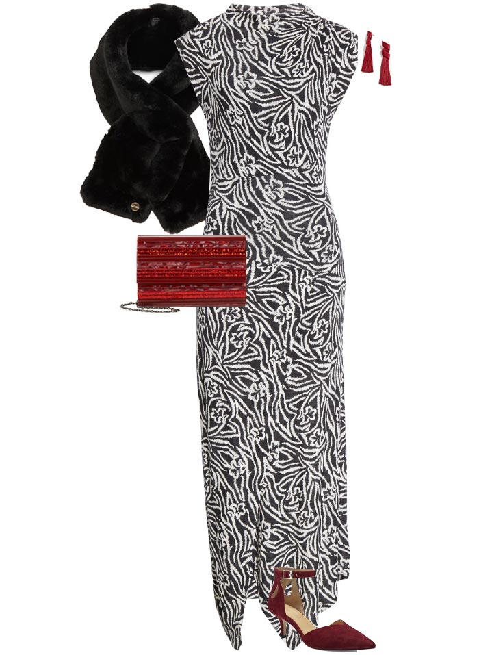 Party dresses for women - outfit #11: A floor length maxi   40plusstyle.com