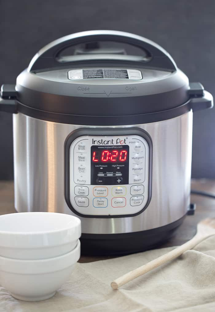Instant Pot Setting for making black beans on manual, natural pressure release