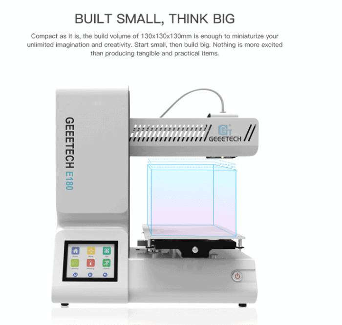 small 3d printer china