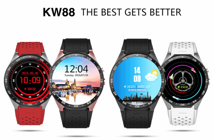 kw88 android watch