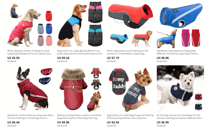cheap dog clothes
