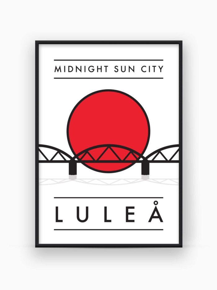 Luleå Poster / Tavla - Burban Studios