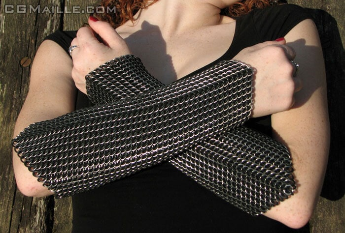 Beautiful chainmail jewelry starter kit to get you started making chainmaille