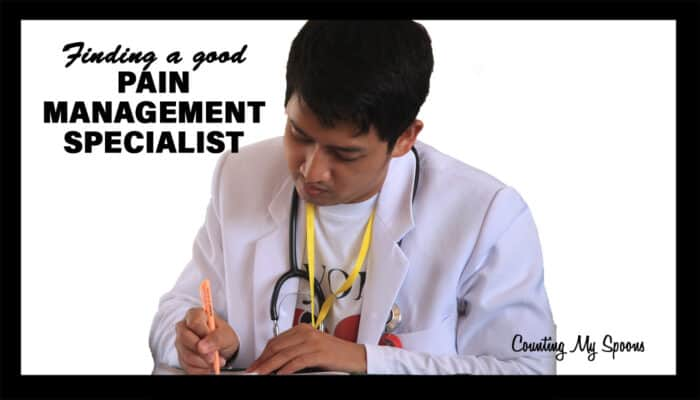 Finding a good pain management doctor