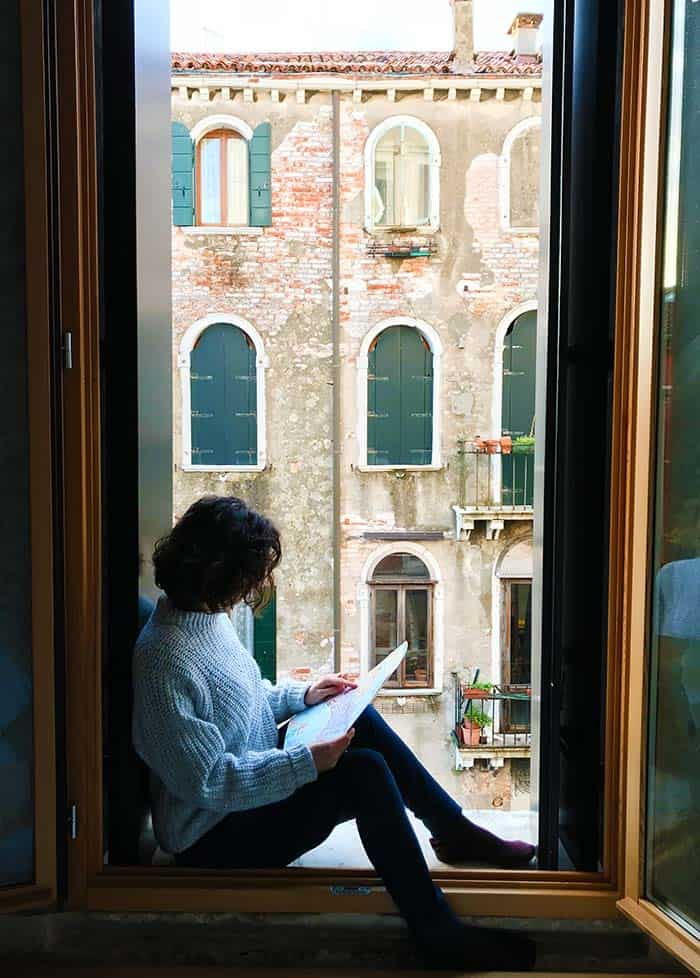 Coolest Hostels in Venice: We Crociferi is a romantic Hostel you will LOVE