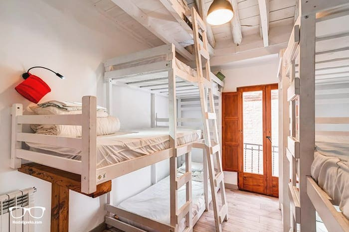 Makuto Backpackers Hostel is one of the best hostels in Granada, Spain for backpackers