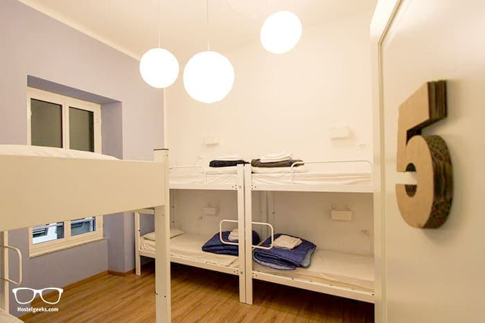 Grand Hostel Manin is one of the best hostels in Cinque Terre, Italy