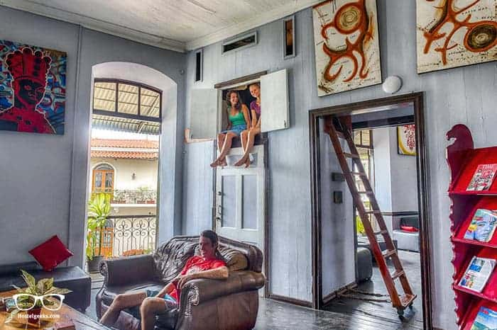 Luna's Castle Hostel is one of the best hostels in Panama City, Panama
