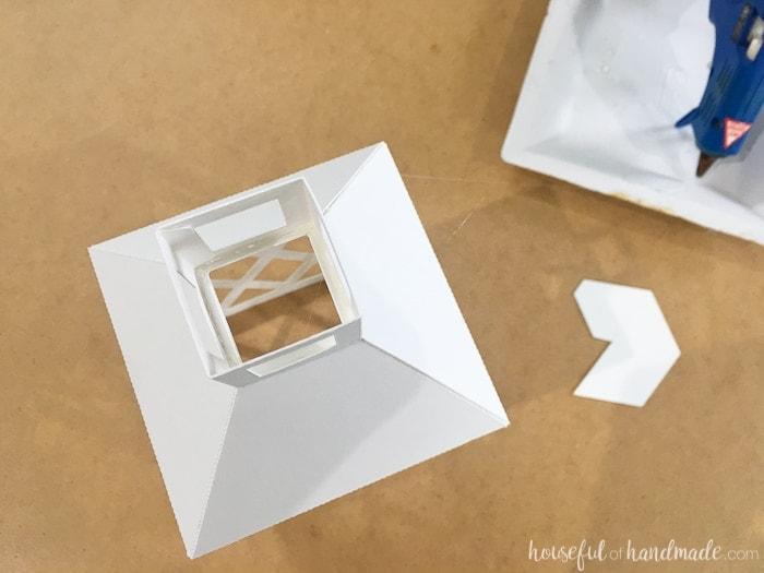 How to Make DIY Paper Lanterns Decor | Paper crafts | Silhouette Cameo craft | DIY Home Decor | Budget Home Decor | Easy Paper Decor | Farmhouse Decor | Farmhouse Style | Rustic Decor | Decorating on a Budget | Free Printable | Free Download | Housefulofhandmade.com