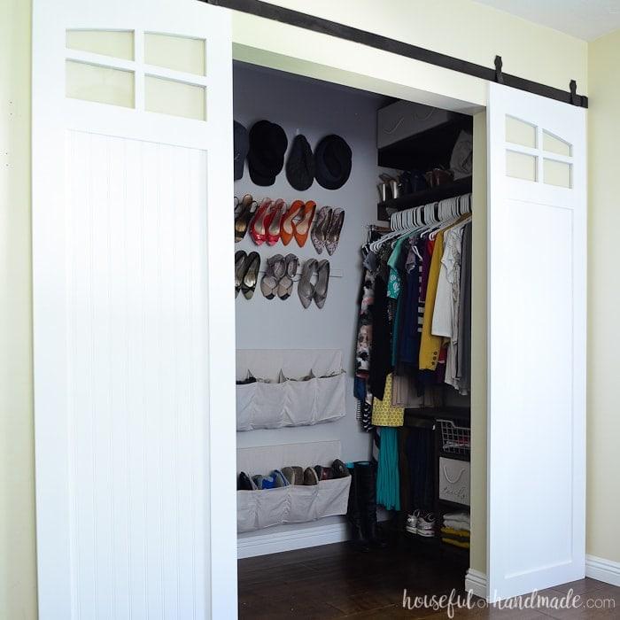 Prime Closet Sliding Barn Doors Build Plans Houseful Of Handmade Home Interior And Landscaping Oversignezvosmurscom