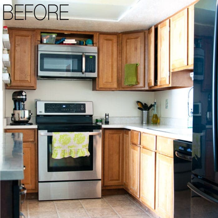 Budget Farmhouse Kitchen Remodel Reveal Almost