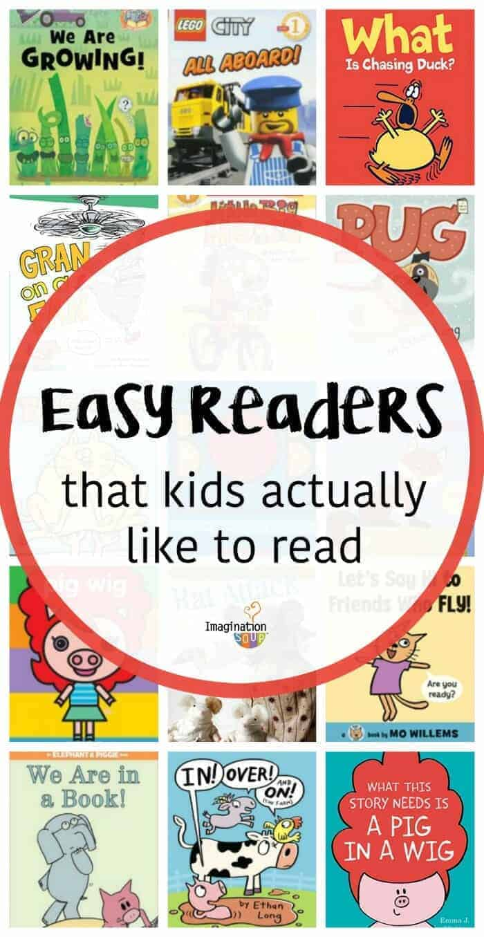 easy readers that kids actually like to read ages 5 and 6