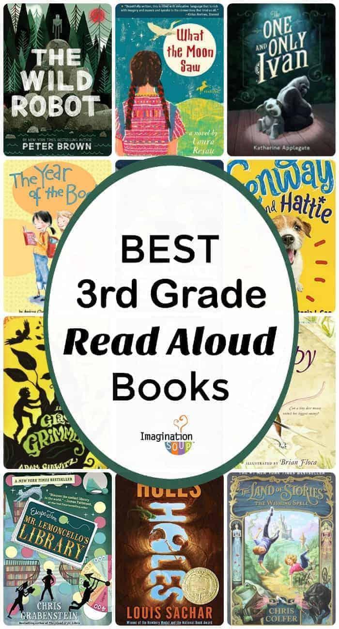 best 3rd grade read aloud books