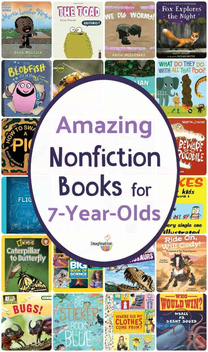 nonfiction books for 7 year olds (2nd grade)