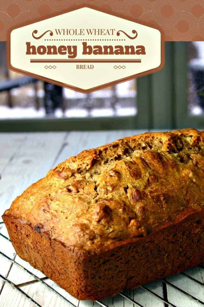 Whole Wheat Honey Banana Bread | Life, Love, and Good Food