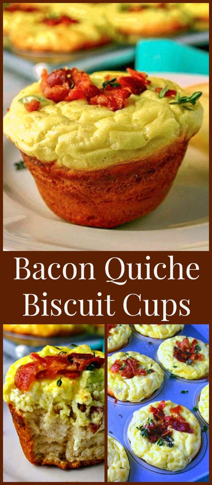 Bacon Quiche Biscuit Cups Life Love And Good Food