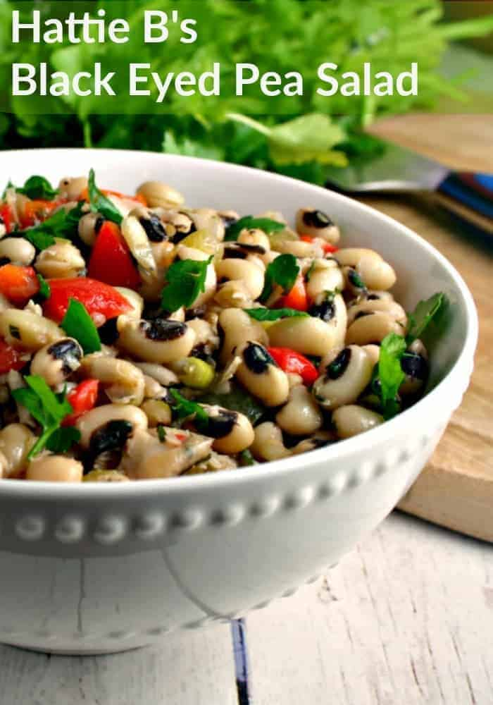 Hattie B's Black Eyed Pea Salad is dressed with a bright and perfectly balanced vinaigrette. | Life, Love, and Good Food