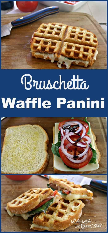 Bruschetta Waffle Panini | Life, Love, and Good Food