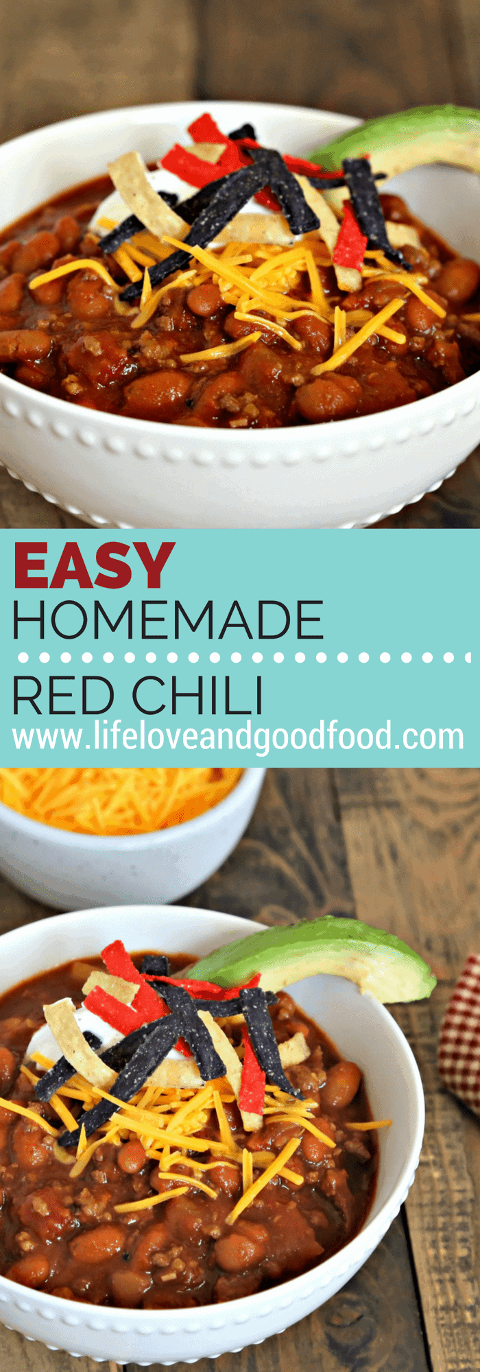 Fix it and forget it! Prepare this easy recipe for Homemade Red Chili and let it simmer in the slow cooker while you play!